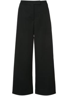 Monique Lhuillier flared culottes - Black