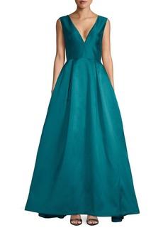 Monique Lhuillier Sleeveless Ball Gown