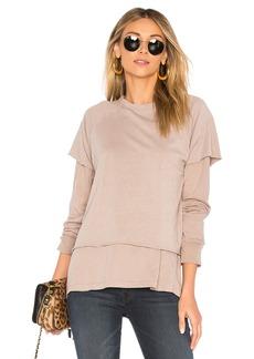 Double Layer Sweatshirt