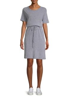 Monrow Drawstring T-Shirt Dress