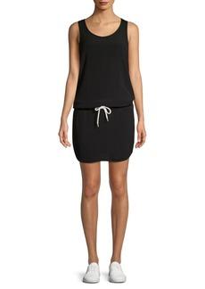 Monrow Drawstring Tennis Dress