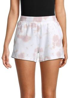 Monrow Ex-Boyfriend Tie-Dye Shorts