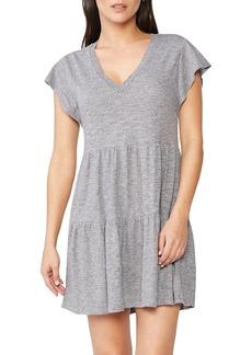 Monrow Granite Ruffle Dress