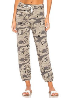 MONROW Camo Vintage Sweats With Stardust