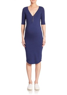 Monrow Maternity Sheath Dress