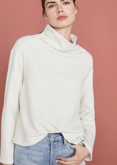 MONROW Cowl Neck Sweatshirt