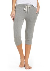 Monrow Crop French Terry Sweatpants