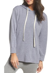 Monrow French Terry Hooded Sweater