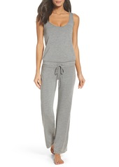Monrow French Terry Jumpsuit