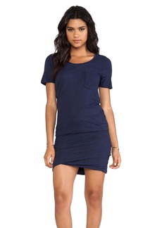 MONROW Granite Pocket T Dress