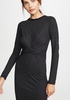 MONROW Granite Wrapped Dress