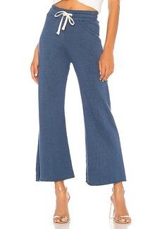 MONROW High Waisted Flare Sweatpants