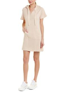 Monrow Hooded Shift Dress