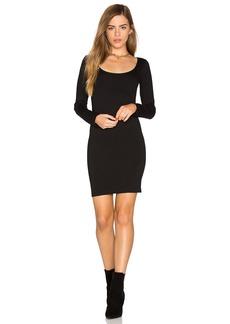 MONROW Long Sleeve Mini Dress