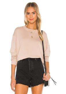 MONROW Patch Pocket Sweatshirt