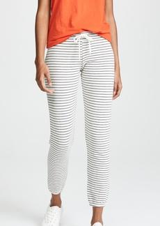 MONROW Pinstripe Vintage Sweatpants