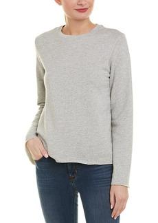 Monrow Raw Edge Sweatshirt