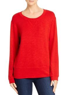 Monrow Round-Neck Sweatshirt
