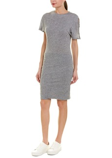 Monrow Shirred Sheath Dress