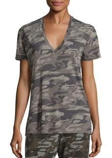 Monrow Short-Sleeve Camouflage T-Shirt