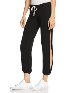 Monrow Side-Slit Sweatpants