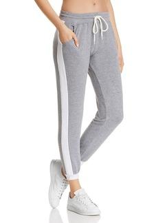 Monrow Side-Stripe Sweatpants