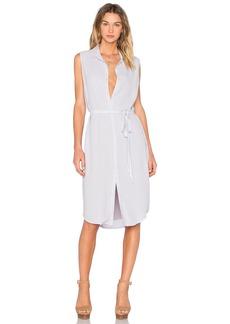 MONROW Sleeveless Shirt Dress