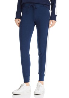 Monrow Star-Trim Jogger Sweatpants
