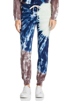 Monrow Sunburst Tie-Dye Sweatpants