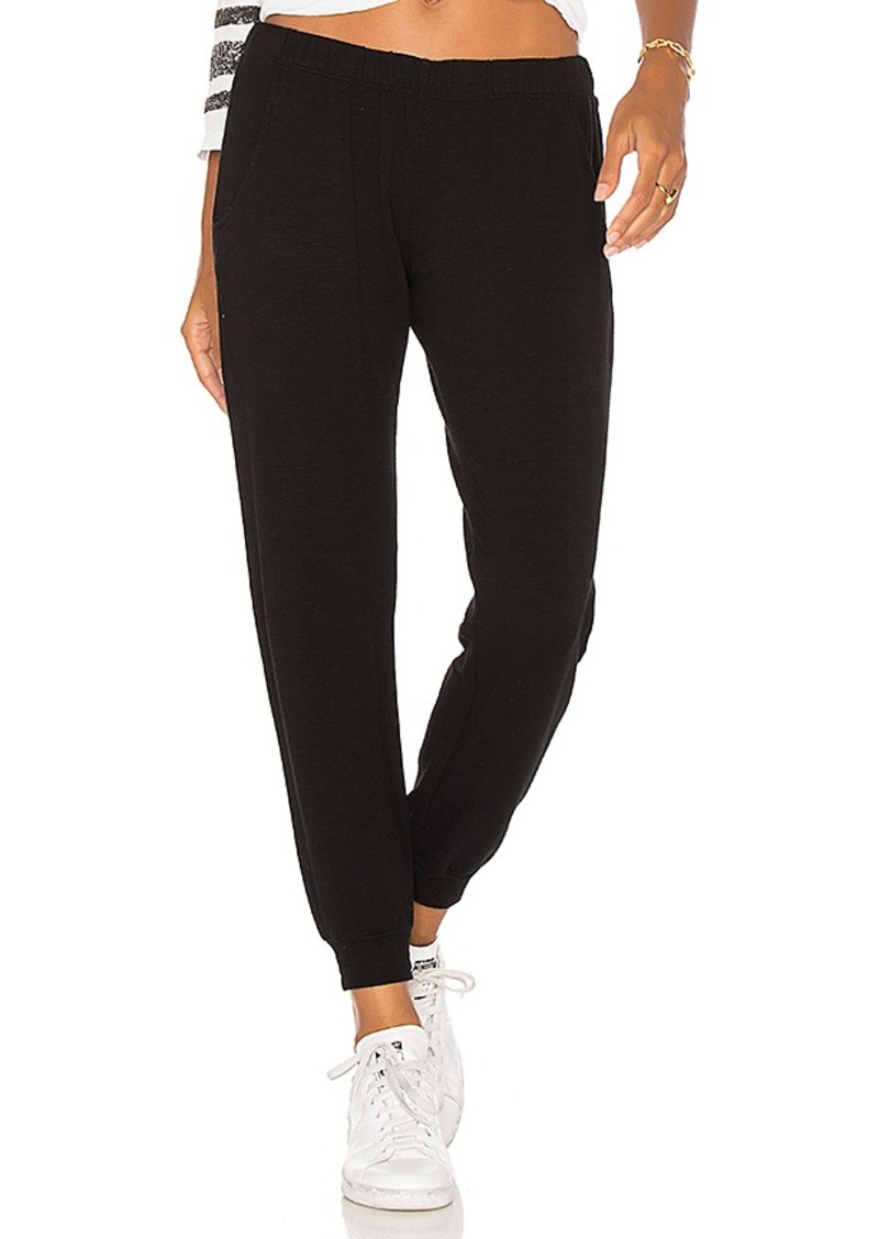Supersoft Lace Up Sweats in Army. - size S (also in M,XS) Monrow