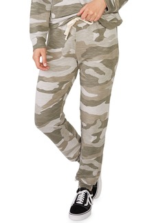 Monrow Super-Soft Oversized Camo Girlfriend Sweatpants