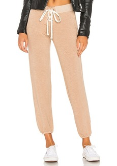 MONROW Supersoft Lace Up Sweatpant