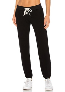 MONROW Supersoft Lace Up Sweats