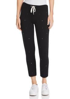 Monrow Supersoft Vintage Embellished Sweatpants