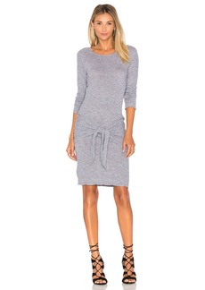 MONROW Tie Front Dress