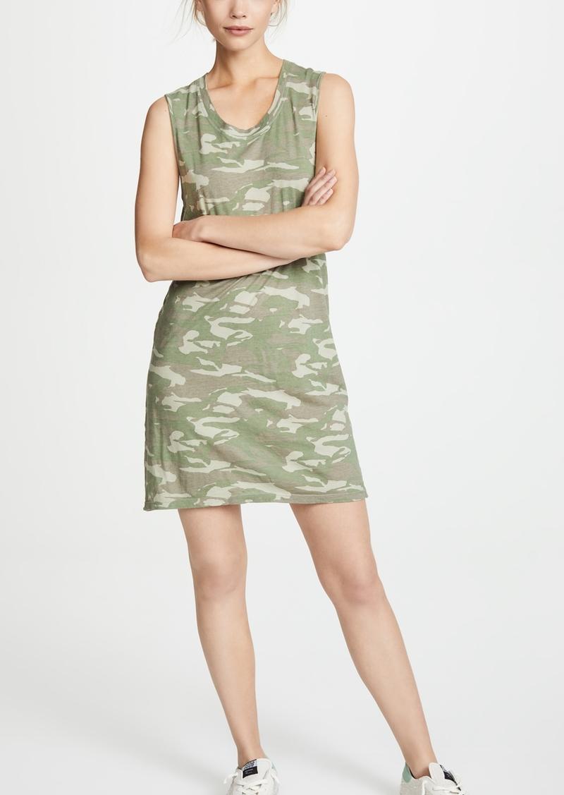 34797443b0456 Monrow MONROW Tonal Camo Tank Dress   Dresses