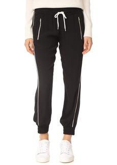 MONROW Track Pants with Elastic Waistband
