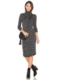 MONROW Turtleneck Dress