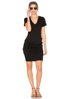 Monrow V Neck Dress