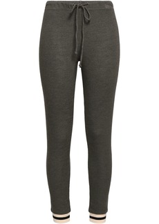 Monrow Woman French-terry Track Pants Army Green