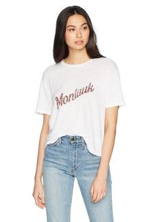 Monrow Women's Athletic Tee w/Montauk