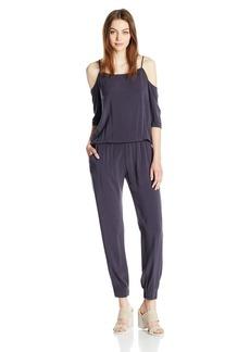Monrow Women's Cold Shoulder Jumpsuit  XS