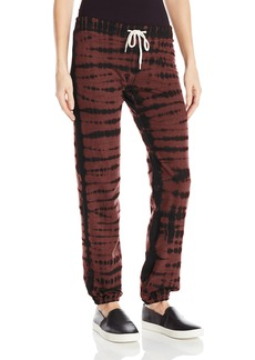 Monrow Women's Crocodile Tie Dye Sweatpants  S