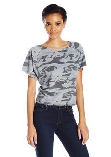Monrow Women's Cutoff Sweatshirt  S