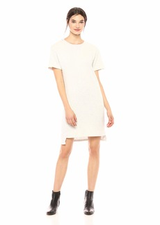 Monrow Women's Dolman Short Sleeve Dress ash Extra Small