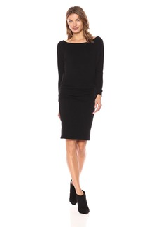 Monrow Women's Off Shoulder Blouson Dress  M