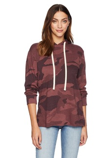 Monrow Women's Oversized Camo Slouchy Sweater