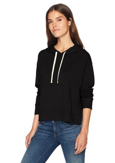 Monrow Women's Pullover Hoody W/Side Slits  Extra Small