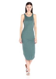 Monrow Women's Rib Midi Dress
