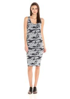 Monrow Women's Shirred Dress  M